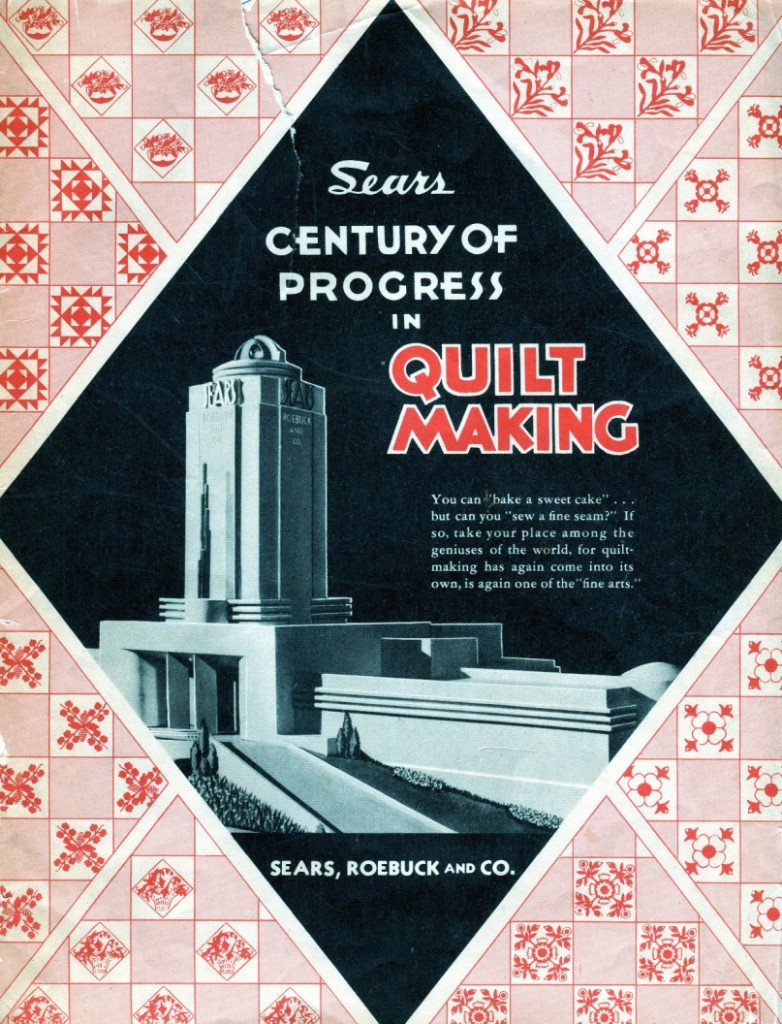 century of progress in quilt making pattern booklet