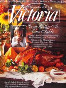 Victoria Magazine Nov 1995 Thanksgiving