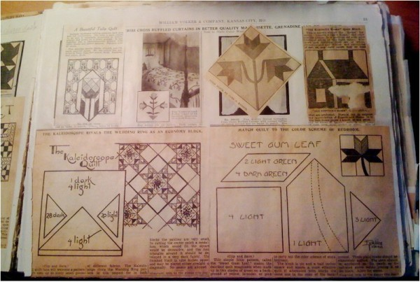 Christmas Tree Kansas City Star Newspaper Quilt Pattern Vintage