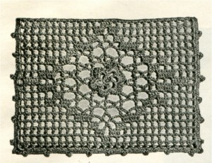 Corticelli Crochet Pattern for Cardcase