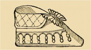 Victorian Infant Baby Shoe Pattern