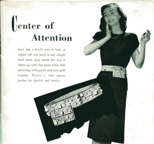 Vintage Crochet Evening Belt Pattern