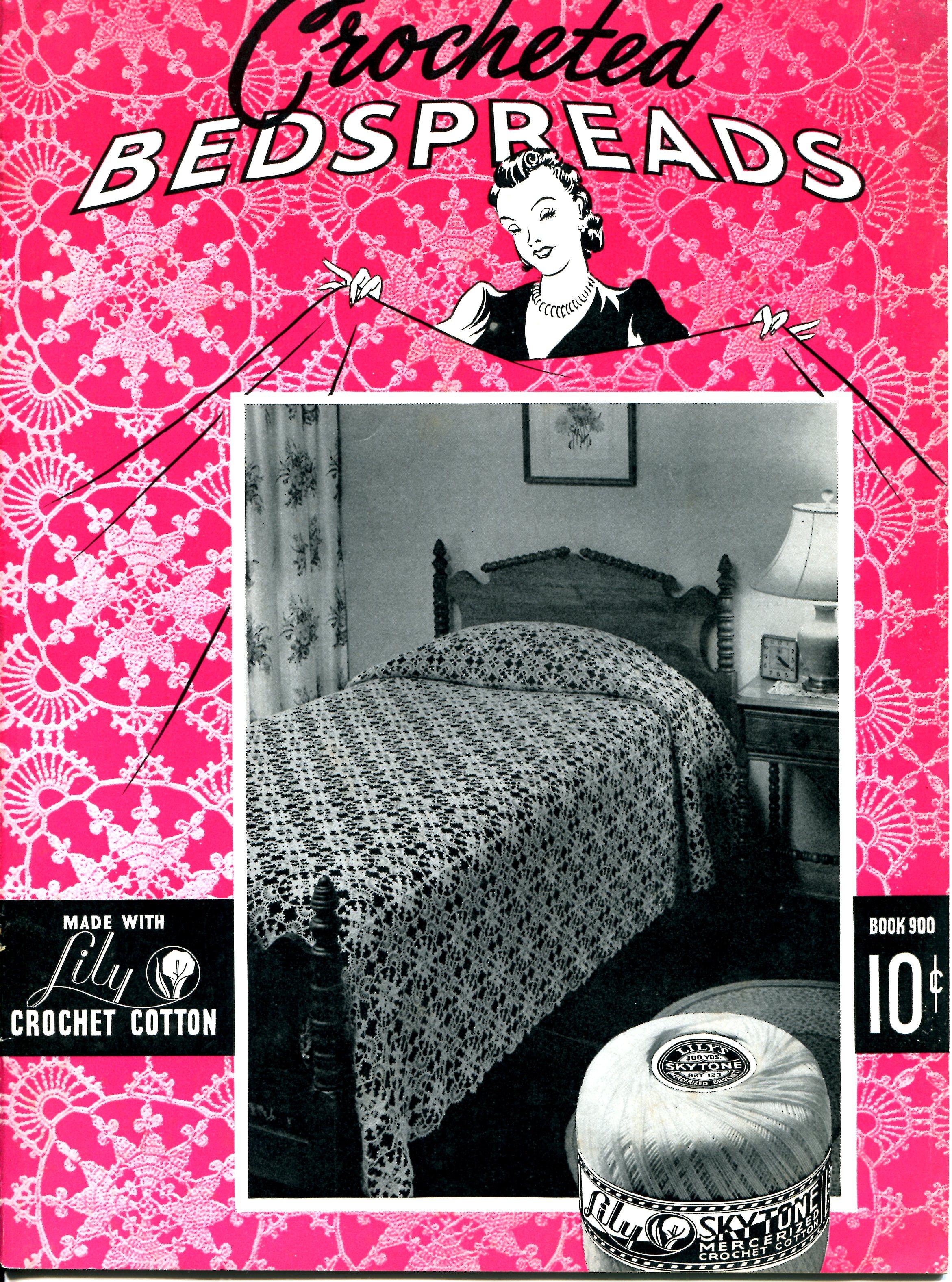 Vintage crochet pattern lace valentine bedspread vintage crafts lace valentine bedspread crochet pattern bankloansurffo Choice Image