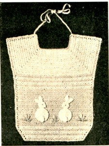 Bunny Baby Bib Pattern Picture