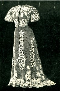 Dress in Irish Crochet