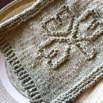 VTNS Fan Freebie – Shamrock Dish Cloth Knitting Pattern
