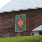 Green County Barn Quilts Friday the 13th Barn Photo