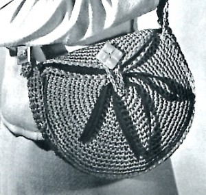 Vintage Single Crochet Bag Pattern