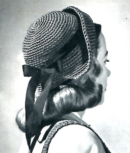 Vintage Single Crochet Hat Pattern