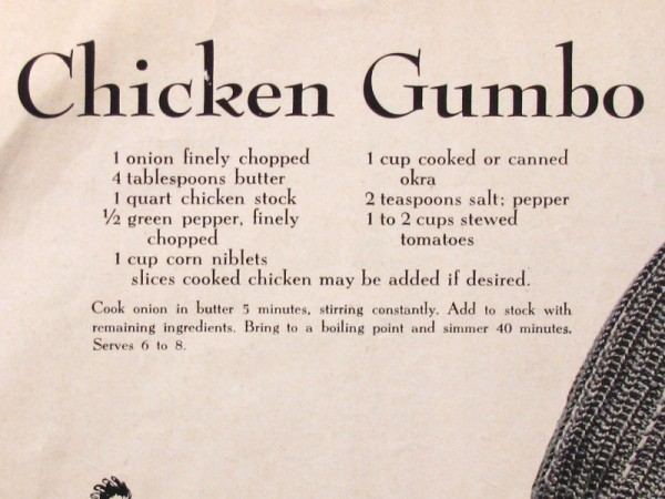 Chicken Gumbo recipe