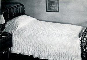 Counterpane Knitted Bedspread