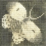 Vintage Crafts and More - Butterfly Canvas Chart