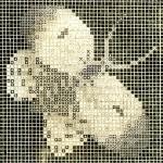 Vintage Butterfly Design for Canvas Work – Fan Freebie Friday
