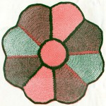Vintage Crafts and More - Crocheted Rag Rug Pattern