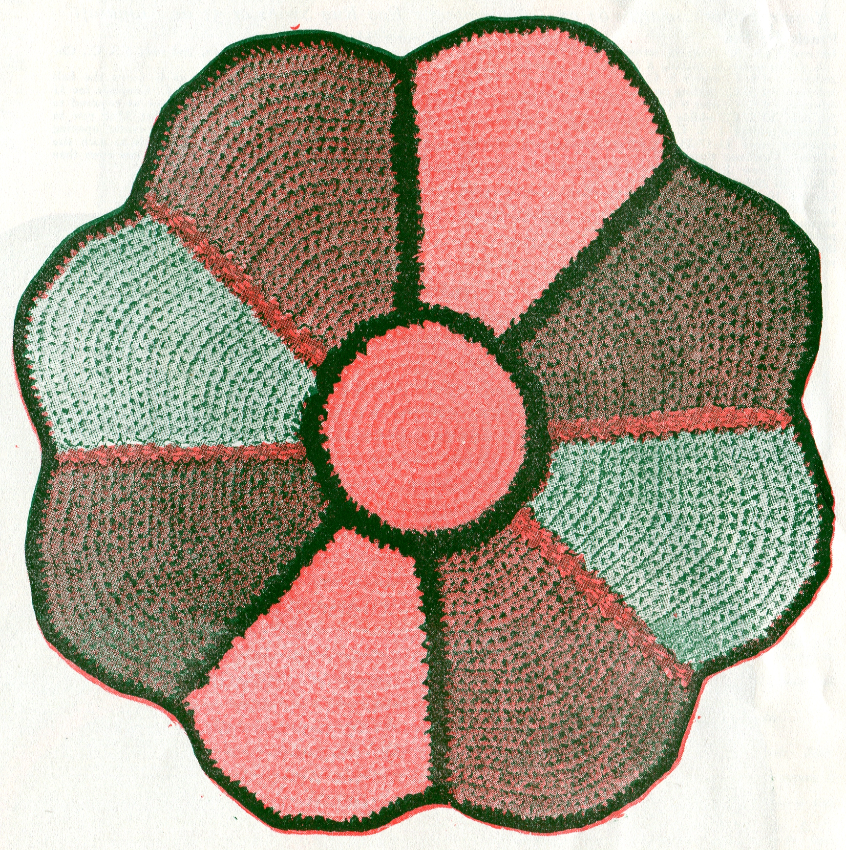 Vintage Crafts And More   Crocheted Rag Rug Pattern