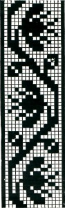 Vintage Crafts and More Filet Crochet Graph