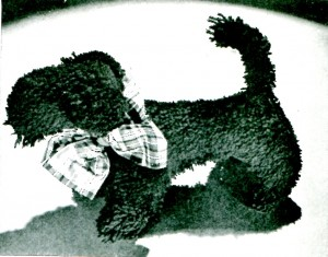 Vintage Crafts and More - MacDougall Scottie Dog Loop Crochet Pattern