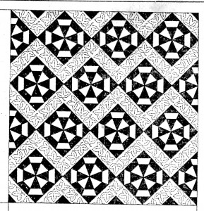 Vintage Crafts and More - Autumn Leaf Quilt Pattern