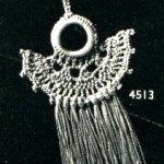 Vintage Crochet Pattern – A Curtain Pull or a Pretty Necklace?