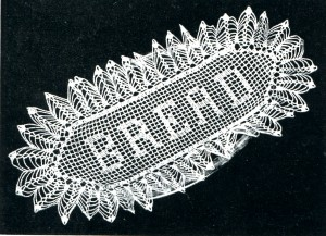 Vintage Crafts and More - Free Crochet Pattern Vintage Bread Tray Doily