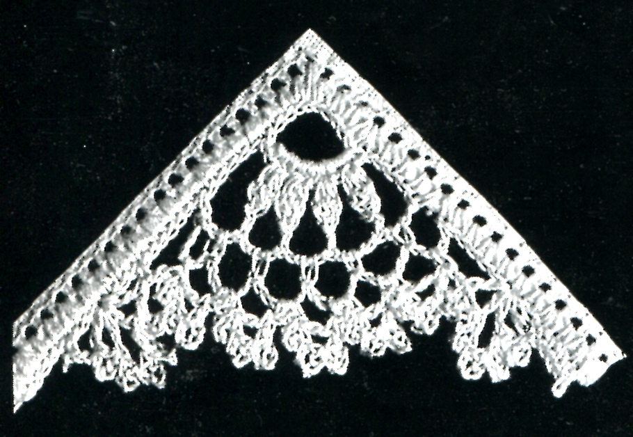 Crochet Stitches Vintage : we see vintage crochet trim patterns but do you ever see a crochet ...