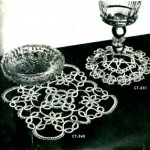 Vintage Tatting Lace Patterns – Doily and Coasters