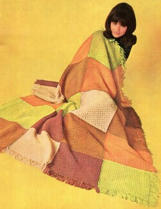 Vintage Crafts and More - Snug Cozy Easy Knitted Afghan Pattern