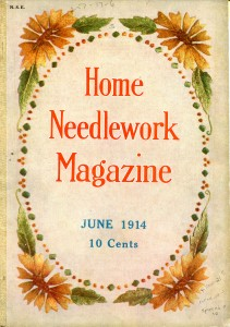 Vintage Crafts and More - 1914 Home Needlework Magazine Cover