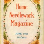 Home Needlework Magazine Vintage Cross Stitch Patterns