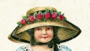 Vintage Crafts and More - Easter Bonnet Post Card