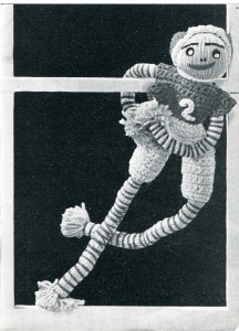 Vintage Crafts and More - Football Doodle Doll Pattern