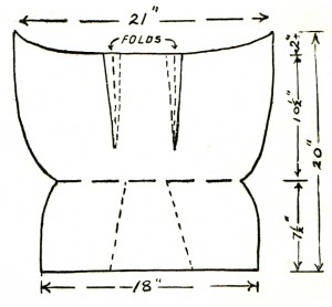Vintage Crafts and More - Garden Tool Apron Pattern