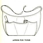 Multi-Pocket Gardening Tool Apron to Sew