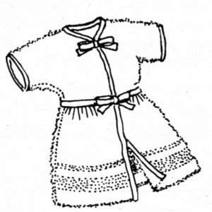 Vintage Crafts and More - How to Make a Kid's Robe From a Towel
