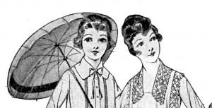 Vintage Crafts and More - 1918 Ladies