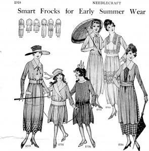 Vintage Crafts and More - 1918 Summer Wear