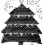 Christmas in July Tree Potholder Crochet Pattern