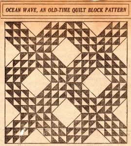 Vintage-Crafts-and-More-Ocean-Wave-Old-Time-Quilt-Block-Pattern