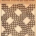 Vintage Ocean Wave Quilt Pattern – VTNS Fan Freebie