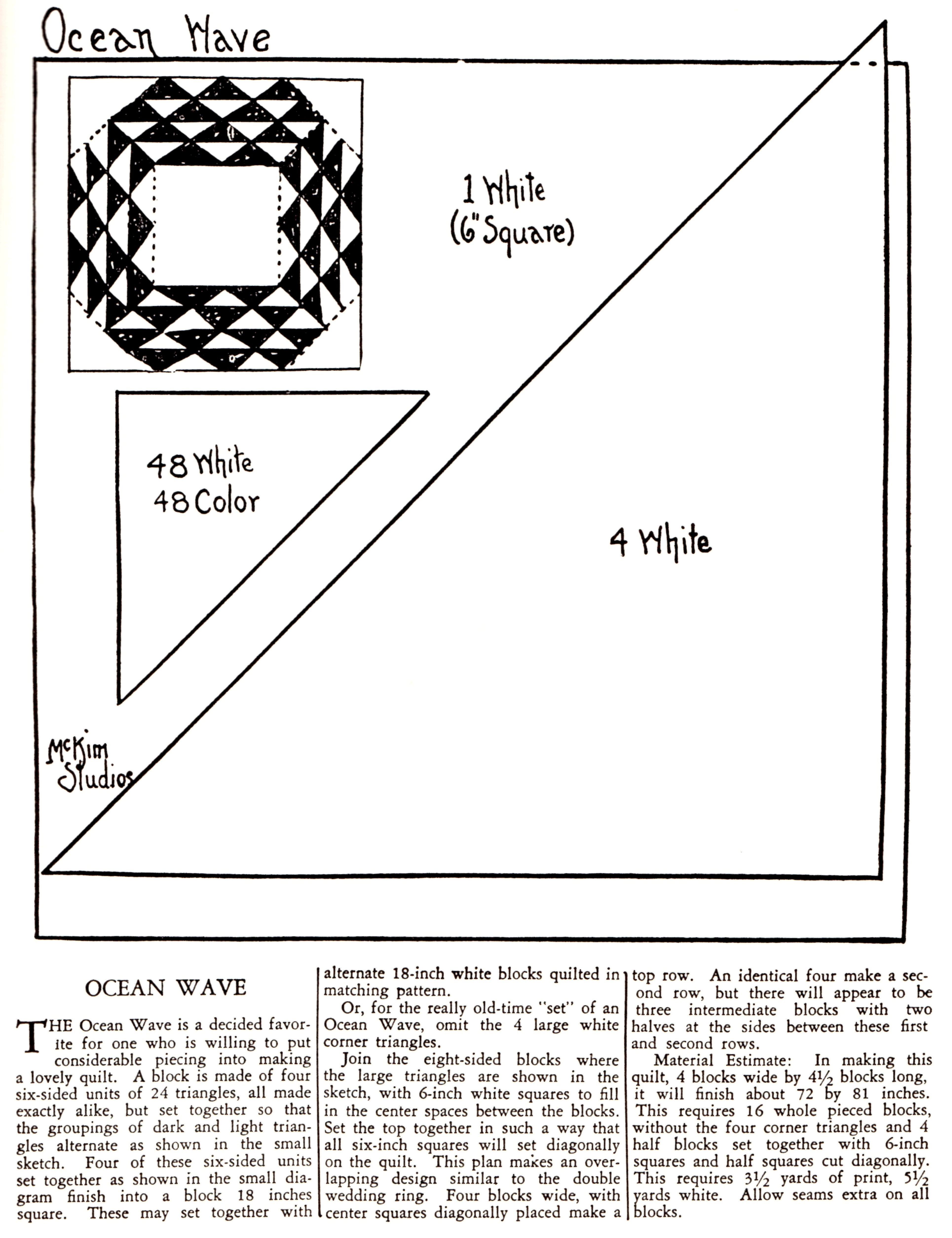 Free Quilt Pattern Archives Vintage Crafts And More