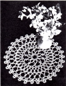 Vintage Crafts and More - Tatting Pattern for a Round Doily