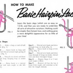 Basic Hairpin Lace Instructions with Lamp Shade Cover Crochet Patterns