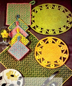 Vintage Crafts and More - Crocheted Rope Craft Patterns