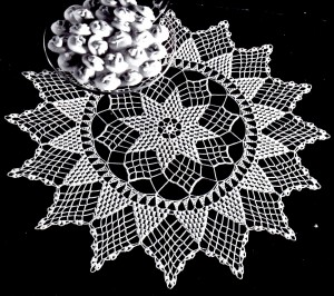 Vintage Crafts and More - Star of Hope Doily Vintage Crochet Pattern