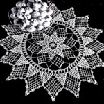 Free Vintage Crochet Pattern Beautiful Star of Hope Doily