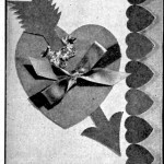 Vintage Crafts and More - Cupids Heart Valentine Paper Craft