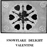 Vintage Crafts and More - Snowflake Delight Valentine Paper Craft