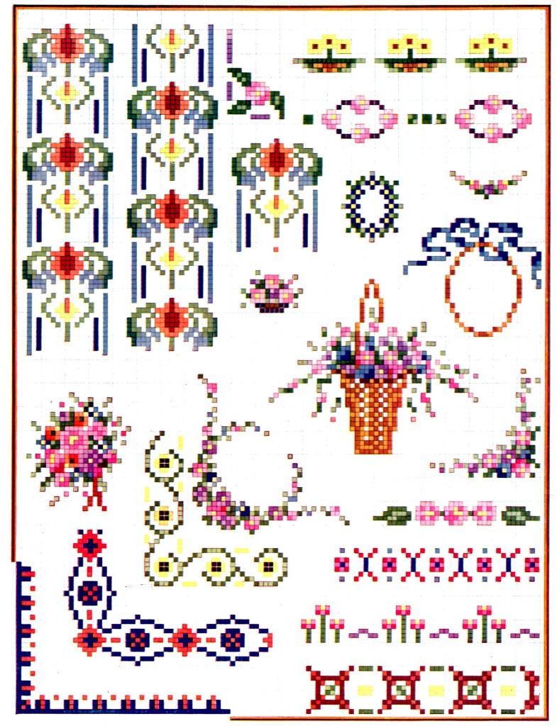 Vintage Crafts and More - Spring Cross Stitch Patterns