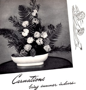 Vintage Crafts and More - Crochet Carnation Pattern