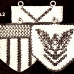 National Emblem Vintage Pot Holder Crochet Patterns and Charts